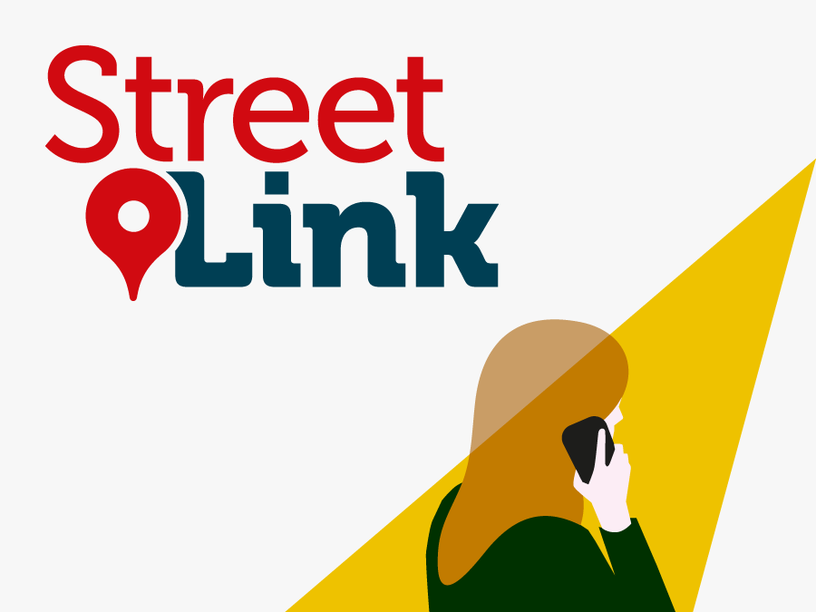 rough sleep - street link logo