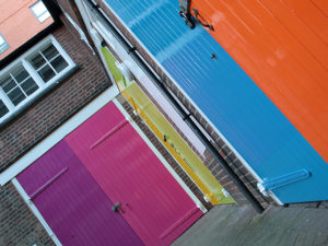 launchpad's differently coloured doors