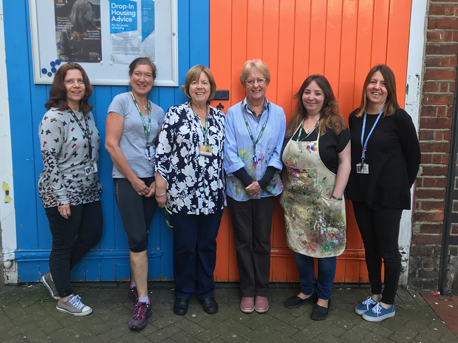 Volunteers' Week: Launchpad volunteers give over 7,200 hours of their time to help prevent homeless