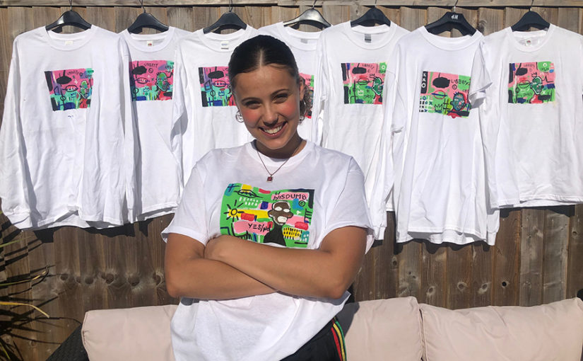 Local artist raises over £1k selling political fashion via Instagram for causes including Launchpad