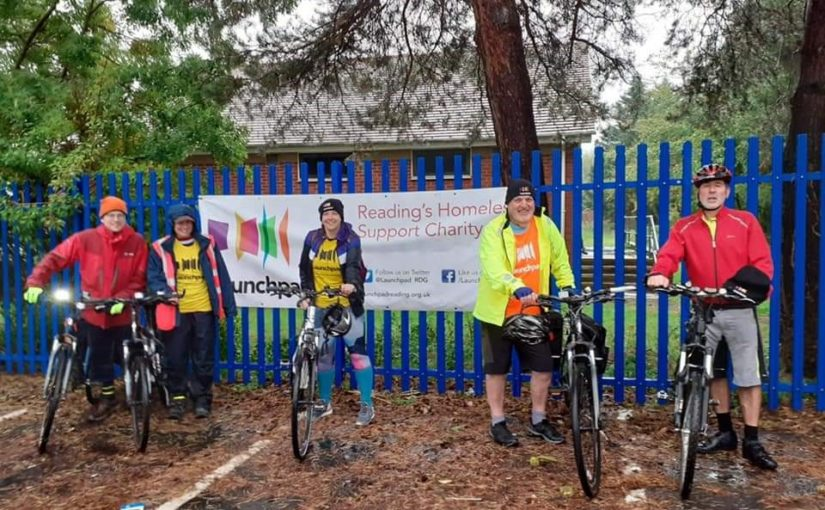 Team Launchpad raise £800 in Tribute Audax cycle ride