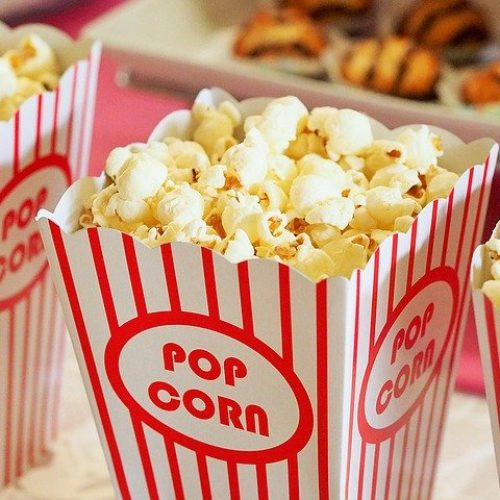 Popcorn for movies